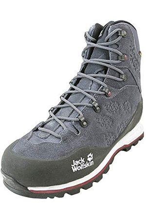 Jack Wolfskin Wilderness XT Texapore Mid W Wasserdicht, Chaussures de Randonnée Hautes Femme, (Ebony/Burgundy 6239), 40 EU