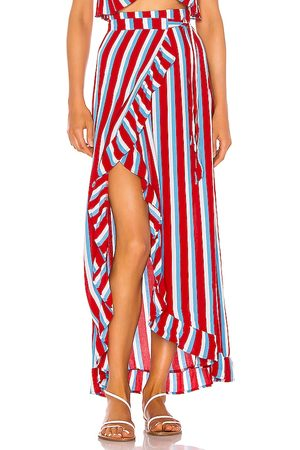 Lovers + Friends Femme Jupes - JUPE WAVES FOR DAYS in . Size XXS, XS, S, M, XL.