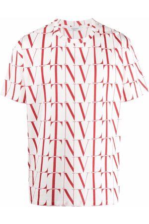 VALENTINO Homme Débardeurs - T-shirt à imprimé VLTN Times