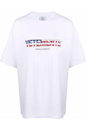 Vetements Cotton drop-shoulder T-shirt