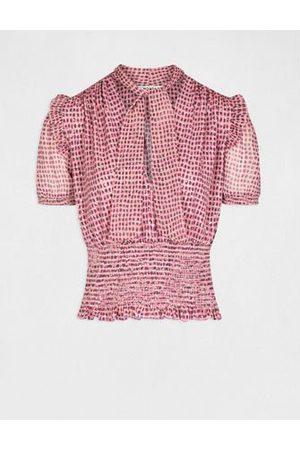 Morgan Femme Manches courtes - T-shirt manches courtes imprimé abstrait