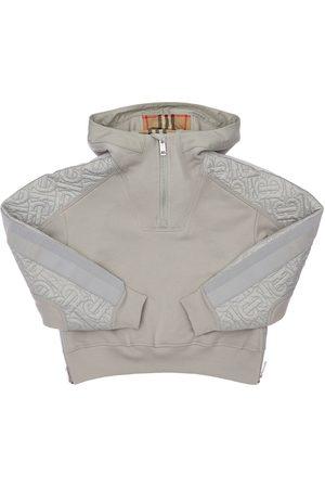 Burberry Sweatshirts - Sweat-shirt En Coton À Capuche