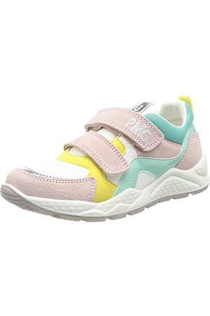 Primigi Femme Chaussures - PTB 73850, Basket Femme, Baby Bco Acquam, 40 EU