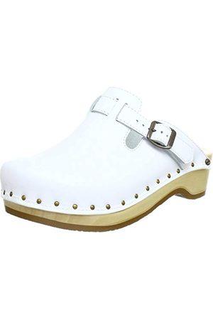 Berkemann Riemen Toeffler 00402, Chaussures mixte adulte, (Weiß), 38