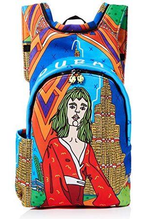 Morikukko Hooded Backpack Dubaimixte adulteSacs à dosMulticolore (Dubai)33x8x40 Centimeters (W x H x L)