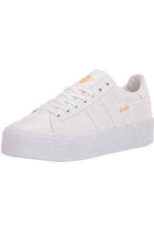 Gola Orchid Platform, Sneaker Womens, White/White/White, 36 EU
