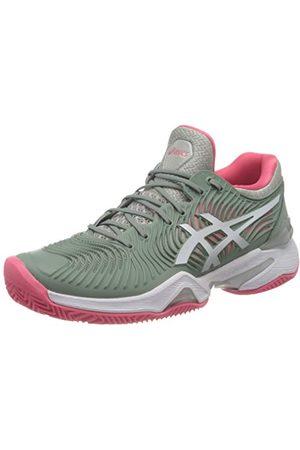 Asics Court FF 2 Clay, Tennis Shoe Femme, Slate Grey/White, 39.5 EU