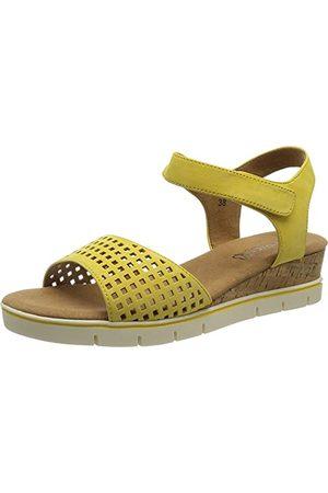 Caprice 9-9-28710-26, Sandale plate Femme, Sun Nubuc, 37 EU