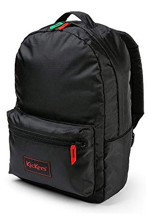 Kickers Ripstop Backpack, Black, One Size 20 Litres, Sac à dos Mixte