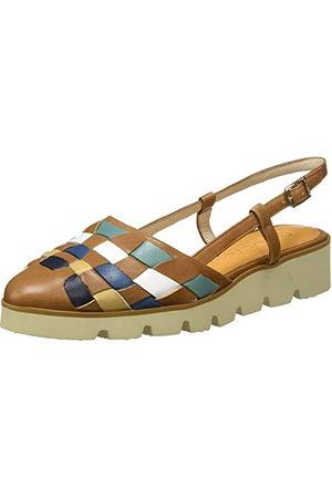 Gadea BAR1434-2, Chaussure Semi-Plate Femme, Multi Camel, 39 EU