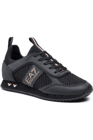 EA7 Homme Baskets - Sneakers - X8X027 XK050 M701 Triple Black/Gold