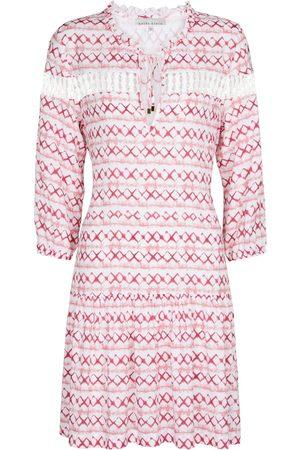 Heidi Klein Mini-robe cafetan Penida imprimée