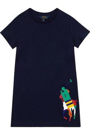 Ralph Lauren Robe t-shirt en coton mélangé avec logo