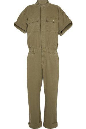 Frame Combi-pantalon Le Tomboy en twill de coton