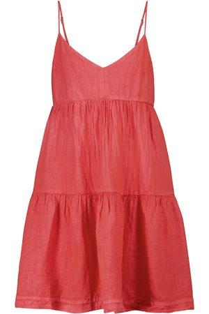 Velvet Mini-robe Emmy en nylon