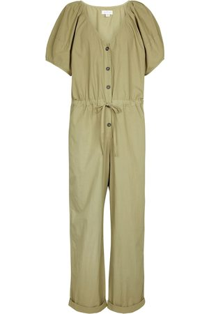 Velvet Combi-pantalon Drucie en coton