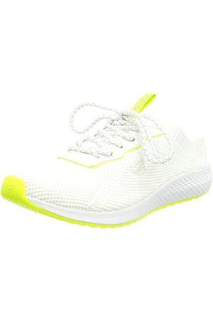 Dockers 48PR204-706597, Basket Femme, White Neon Green, 38 EU
