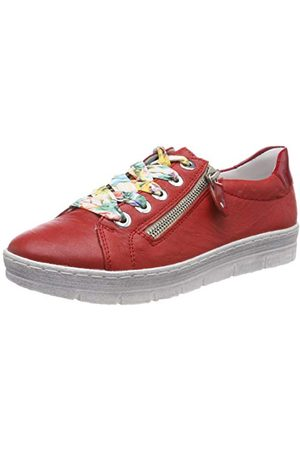Remonte D5803, Sneakers Basses Femme, (Flamme/Rosso 33), 44 EU