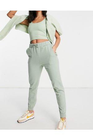 Miss Selfridge Pantalon de jogging resserré aux chevilles - Kaki