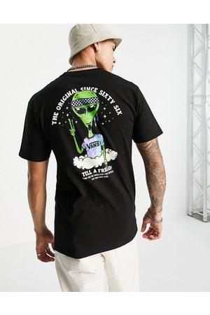 Vans Just Visiting - T-shirt à imprimé au dos