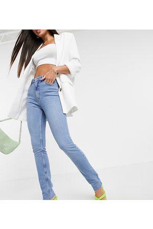 ASOS ASOS DESIGN Tall - Jean skinny taille mi-haute effet vintage - Délavage moyen