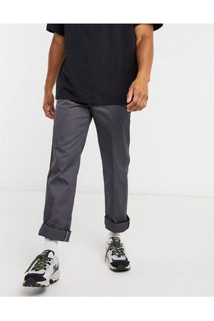 Dickies 873 - Pantalon de travail slim coupe droite - anthracite