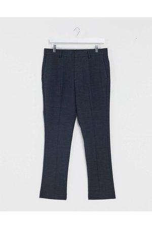 New Look Pantalon de costume slim court - marine