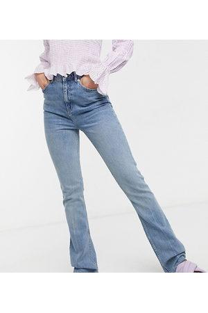 ASOS ASOS DESIGN Tall - Jean stretch évasé taille haute style années 70 - Délavage clair