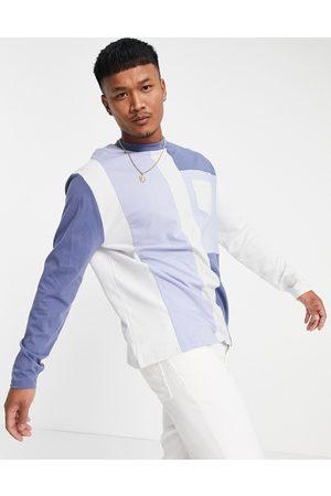 ASOS T-shirt oversize color block à manches longues