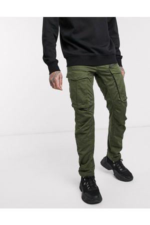G-Star Rovic - Pantalon droit fuselé à fermeture éclair effet 3D - Kaki
