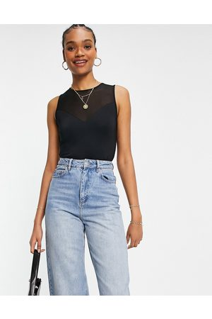 French Connection Sira - Body sans manches en tulle