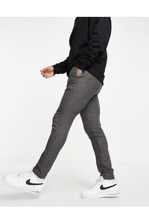 ASOS Pantalon de costume ajusté effet texturé moucheté