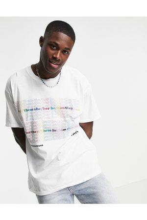 Levi's Homme Débardeurs - Pride Liberation - T-shirt à imprimé façon roadtrip multicolore