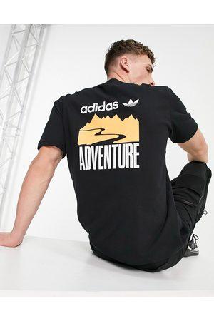 adidas Adventure - T-shirt imprimé au dos