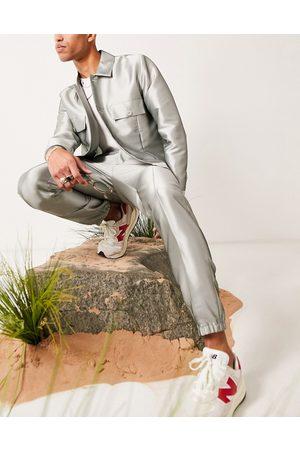 ASOS Jogger élégant coupe slim resserré aux chevilles (pièce d'ensemble) - pastel brillant