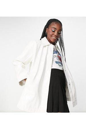 ASOS Femme Vestes - Tall - Veste-chemise oversize en vinyle