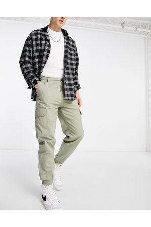 New Look Pantalon cargo à chevilles resserrées - Kaki