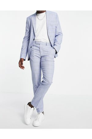 ASOS Pantalon de costume ajusté à carreaux Prince de Galles