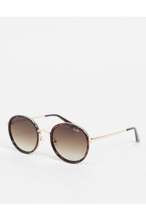 Quay Australia Quay - Firefly - Mini lunettes de soleil unisexes rondes