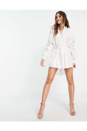 In The Style X Lorna Luxe - Robe chemise à manches oversize