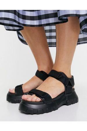 ASOS Femme Sandales - Fly By - Sandales sportives à semelle chunky