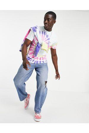 Vans Drop V - T-shirt à motif spirale effet tie-dye