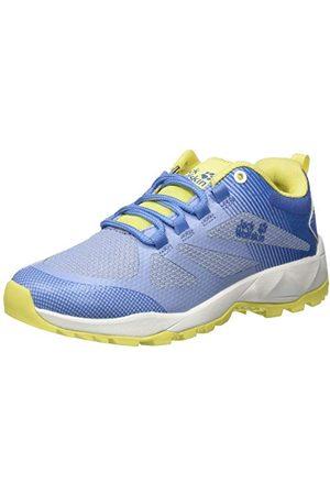Jack Wolfskin Fast Striker Low W, Chaussures de Randonnée Basses Femme, (Light Blue/Lemon 1591), 39 EU