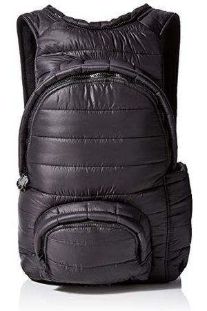 Morikukko Hooded Backpack Puffed Black Blackmixte adulteSacs à dosNoir (Puffed Black Black)33x8x40 Centimeters (W x H x L)