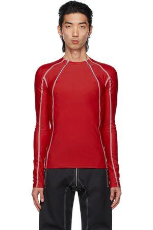 Kennel Schmenger Gmbh T-shirt à manches longues Ande rouge en jersey