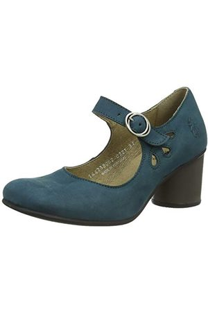 Fly London SLOE738FLY, Chaussure Baby Femme, Sarcelle, 35 EU