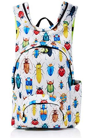 Morikukko Hooded Backpack Bugmixte adulteSacs à dosMulticolore (Bug)33x8x40 Centimeters (W x H x L)