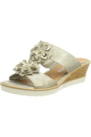 Remonte R6254, Sandale cale Femme, Perle 90, 37 EU