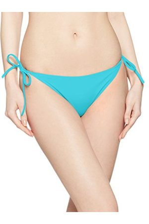 Calvin Klein Cheeky String Side Tie Bikini Bas de Maillot, (Blue Radiance 480), 36 (Taille Fabricant: Small) Femme