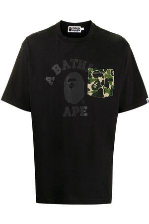 A Bathing Ape T-shirt à logo imprimé